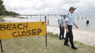 Illustration - plage australienne fermée suite à l'attaque d'un requin