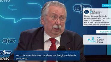 """André Flahaut: """"Le gouvernement wallon se comporte comme s'il avait des pouvoirs spéciaux"""""""