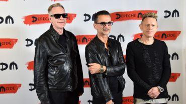 Les membres du groupe Depeche Mode