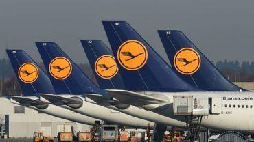 La grève des pilotes a coûté 100 M EUR à Lufthansa