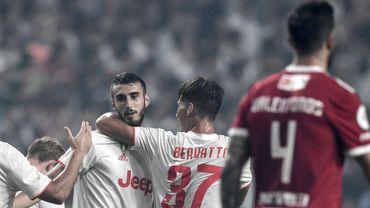 Simone Muratore lors de l'une de ses rares apparitions sous la maillot de la Juventus