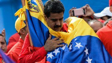 Le président vénézuélien Nicolas Maduro à Caracas, le 27 juillet 2017