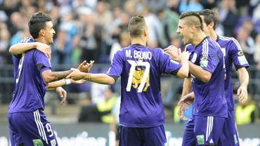 Anderlecht s'est largement imposé face à Mlaines (5-0)