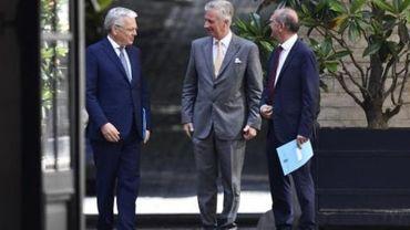 Formation fédérale - Les informateurs royaux au Palais pour un nouveau rapport intermédiaire