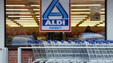 Plusieurs individus ont braqué le magasin Aldi de Philippeville, mardi après-midi (illustration).
