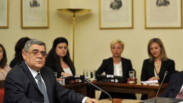Le chef d'Aube Dorée, accusé de constitution d'une organisation criminelle, a plaidé non coupable devant la justice grecque