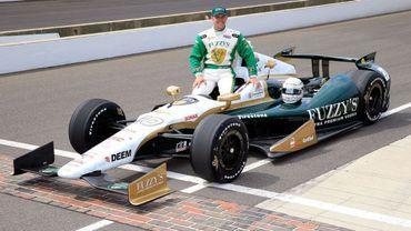 Carpenter en pole position à Indianapolis