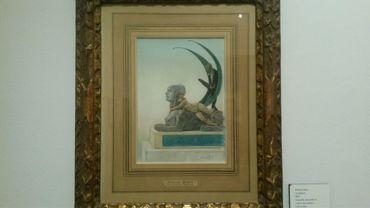 """""""La Sphinge"""", au Musée Rops à Namur"""