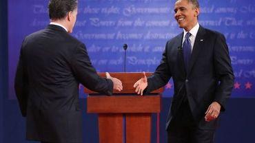 Mitt Romney et Barack Obama