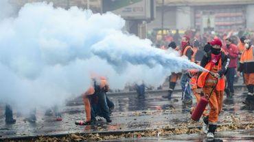 La police craint des morts pour la prochaine manifestation à Anvers