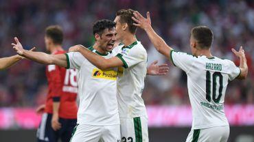 Monchengladbach, avec Thorgan Hazard, s'impose largement au Bayern Munich