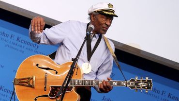 Chuck Berry en 2012 aux Awards For Lyrics Of Literary Excellence