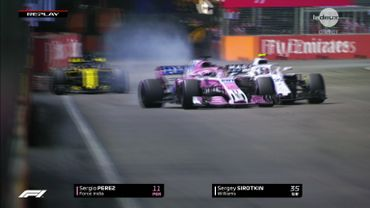 La Racing Point Force India de Sergio Perez