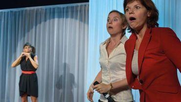 """Isabelle Paternotte, Natalie Willame et Stéphanie Van Vyve campent les héroïnes du """"Chaos"""""""
