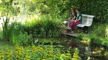Un coin de paradis saint servais dans le cadre de l 39 op ration parcs et jardins de wallonie - Petit jardin que mettre mulhouse ...