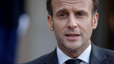 Emmanuel Macron, le président français.