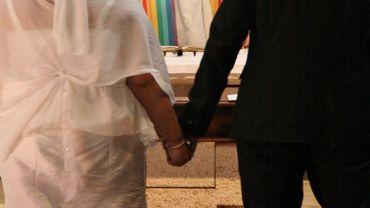 D'après l'étude, les mariages forcés ne représentent même pas 1% des mariages bruxellois (illustration).
