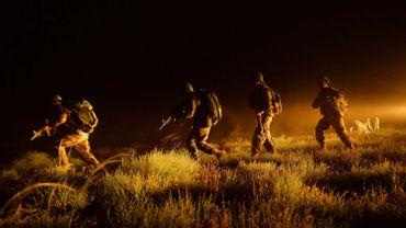 L'armée nationale afghane effectuait des exercices militaires le 15 mai dernier.