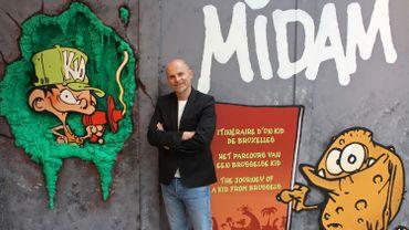 Une exposition sur la carrière de Midam, le créateur de Kid Paddle, à Bruxelles