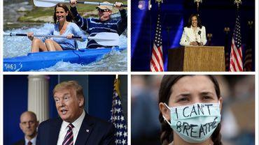 Sophie Wilmès, Kamala Harris, Donald Trump, I Can't breathe