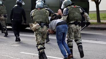 Bélarus: environ 250 arrestations à la manifestation de l'opposition
