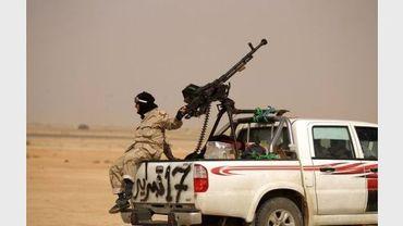 Un insurgé libyen, le 14 mars 2011 à Ajdabiya