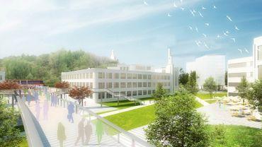 Liège: la réhabilitation du site du Val Benoit va enfin commencer.