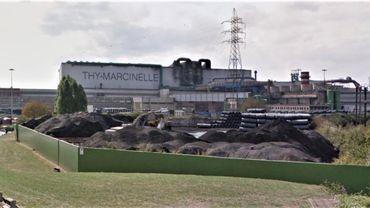 Tensions autour de la sécurité sanitaire au sein de l'entreprise sidérurgique Thy-Marcinelle
