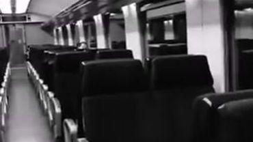 La fréquentation des trains est très basse en ce moment. La SNCB parle d'un taux d'occupation des wagons d'à peine 5%