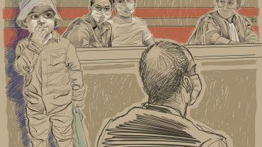 """Procès Mawda: """"Nous étions couverts de sang, ils savaient qu'il y avait eu un tir """", les parents de Mawda présente au tribunal leur version des faits,"""