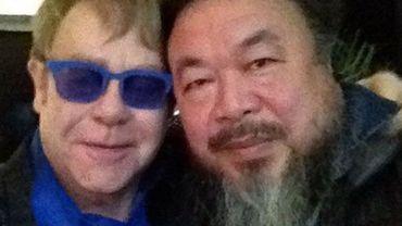Elton John et Ai Weiwei