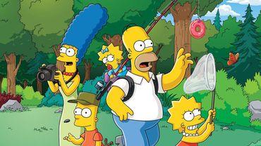 """""""Les Simpson"""" a battu dimanche le record du plus grand nombre d'épisodes pour une série à la télévision américaine"""