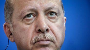 Le président Recep Tayyip Erdogan.