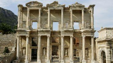 La ville d'Ephèse, site archéologique majeur de Turquie, est parmi les sites les plus menacés par l'érosion côtière.