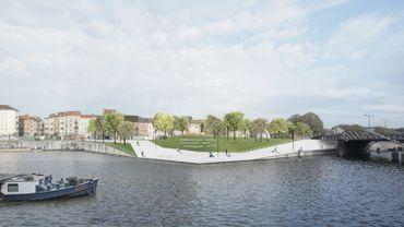 Le bureau Gijs Van Vaerenbergh concevra 3 pistes cyclables le long du canal à Bruxelles