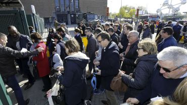Près de 30 000 français sont attendus aux bureaux de vote à Heysel