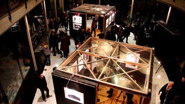 Les photos sont à voir à l'Atrium de l'Université du Travail de Charleroi