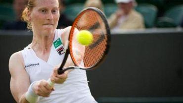 WTA Washington - Alison Van Uytvanck n'a pas passé le premier tour