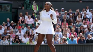 Wimbledon: Serena Williams en demi-finales