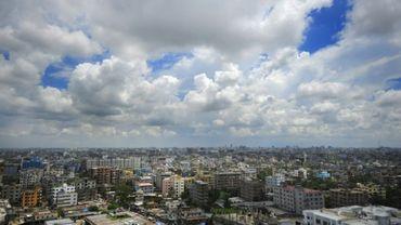 Vue de Dacca, la capitale du Bangladesh, le 20 septembre 2010