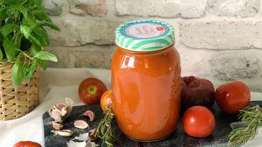 La Cuisine de Leslie - Préparer sa sauce tomate pour l'hiver