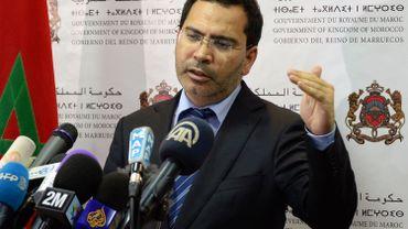 Mustapha El Khalfi en 2014.