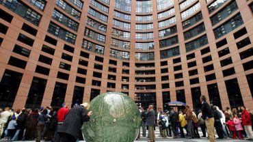 Le parlement européen à Strasbourg.