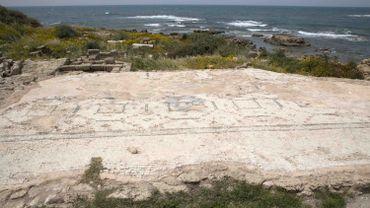 """Les découvertes à Césarée, un complexe balnéaire au nord de Tel-Aviv, sont le résultat de """"l'un des plus importants projets de conservation jamais réalisés en Israël'"""