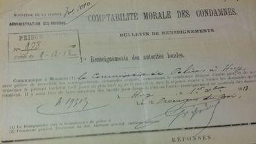 Les archives de la prison de Huy entre 1815 et 1991 consultables à Liège
