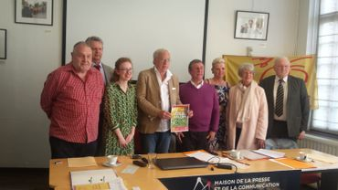 Quelques uns des candidates et candidats de Wallonie insoumise pour la Province de Liège