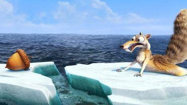 L'écureuil Scrat dans l'Age de glace 4