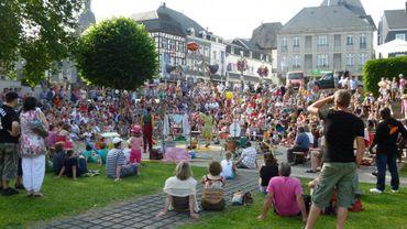 les P'tits Festarts  clôture les VTS à Stavelot, dimanche 8 juillet