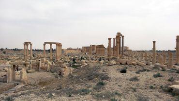 Le site de Palmyre en Syrie