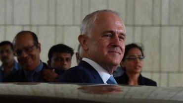 """Nous ne sommes pas définis par la race, la religion ou la culture, comme de nombreuses autres nations"""", a expliqué le Premier ministre australien Malcolm Turnbull à la presse."""